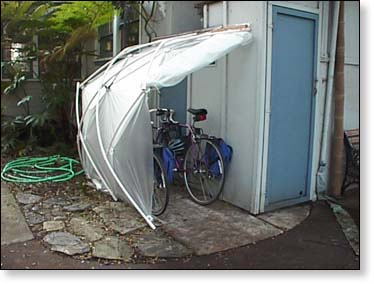 The BikeShed Can Also Be Used As A Greenhouse To Start Seedlings Or To  Overwinter Plants, Store Tools, Or As A Shed To Dry Firewood, Etc.